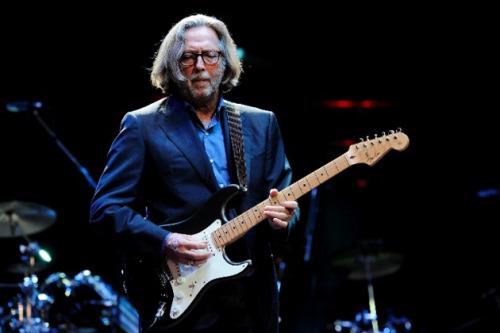 Ēriks Kleptons ar Fender Stratocaster