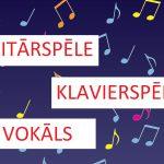 Izdevīgs piedāvājums vokāla, klavierspēles un ģitārspēles nodarbībām vasarā!