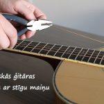 """SEMINĀRS-PRAKTISKĀ NODARBĪBA """"Akustiskās ģitāras standarta apkope"""""""