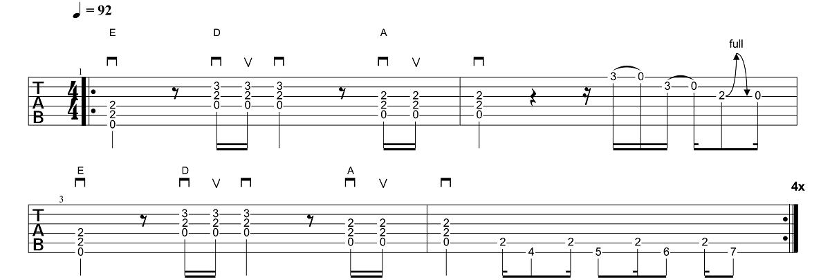 1. Daļa - AC-DC - Back In Black - Ģitārspēles Nodarbība - Gitarspele.lv