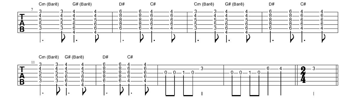 3. Piedziedājums (akustiskā ģitāra) - Gitarspele.lv Nodarbības