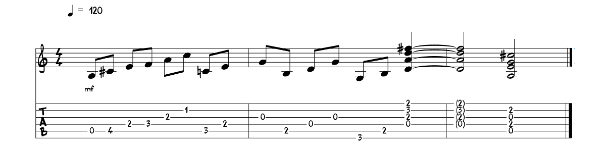 3.daļa – The Beatles - Here Comes The Sun – Ģitārspēles nodarbība – Gitarspele.lv