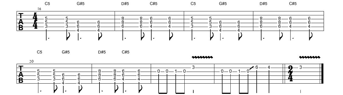 4. Piedziedājums (elektriskā ģitāra) - Gitarspele.lv Nodarbības