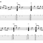 Ai jel manu vieglu prātu – Ģitārspēles Video Nodarbība – 3/3 daļa – Akordi un melodija kopā