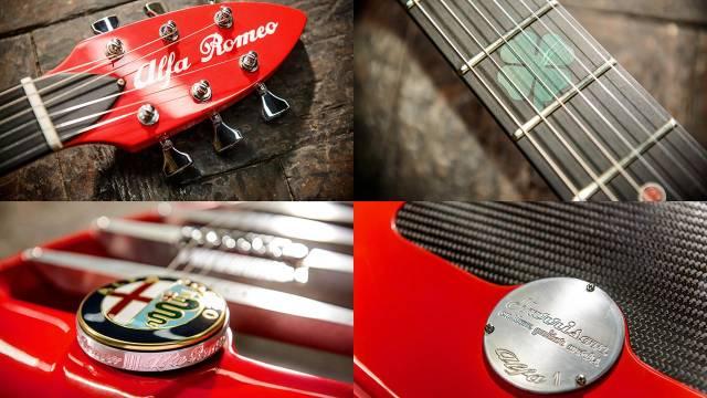 Alfa Romeo ģitāra 2