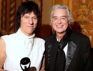 Jeff Beck un Jimmy Page