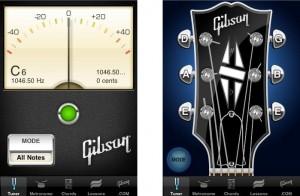 Gibson App Skaņotāja Interfeiss
