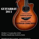 Guitar Day 2011 – vēl var pieteikties