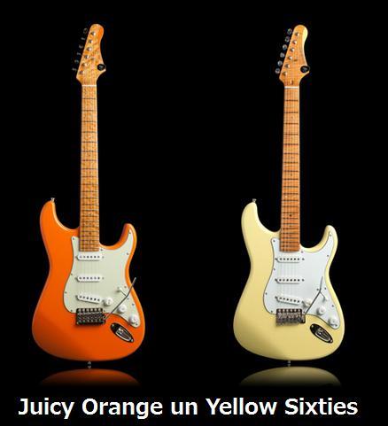 Juicy orange un yellow sixties ufnal