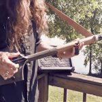 Elektriskā ģitāra no lāpstas
