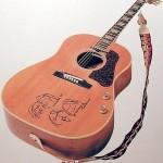 Džona Lenona Gibson J-160E 70. gadadienas modeļi