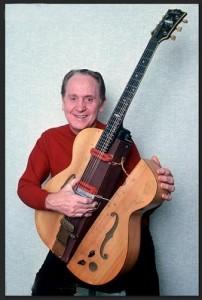 Les Pols ar Baļķa ģitāru