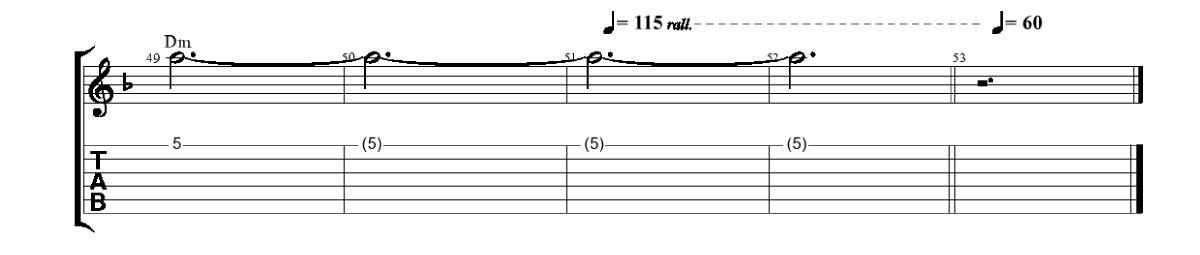 Melodija-Nobeigums-www.gitarspele.lv