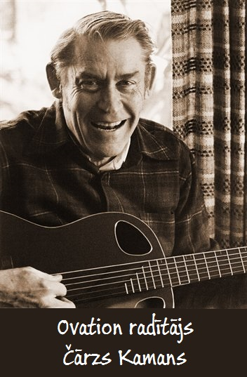Ovation ģitāru radītājs Čārlzs Kamans