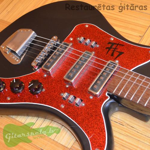 PSRS Banzai elektriskā ģitāra Gitaruveikals.lv 1