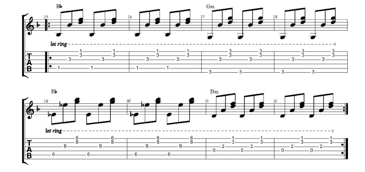 Pavadījums-3-daļa-piedziedājums-www.gitarspele.lv