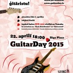 GuitarDay  2015 uzvarētāji jau noskaidroti