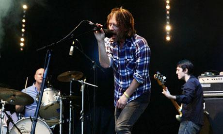 Radiohead uz skatuves 1