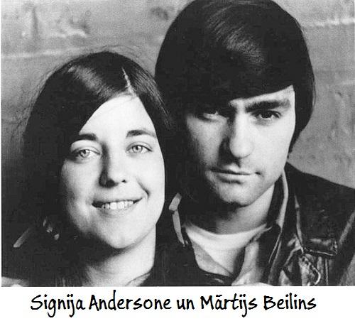 Signija Andersone un Mārtijs Beilins