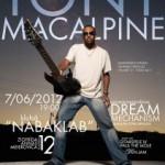 Tony Macalpine koncerts/meistarklase 7. jūnijā – ieeja brīva!