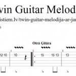 Twin Guitar melodija ar JamMan Solo
