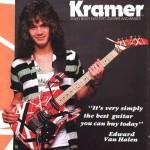 Edija Van Halena 1982. gada Frankenstrat Kramer Ģitāra